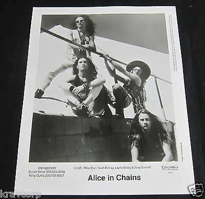 Alice In Chains—1990 Publicity Photo