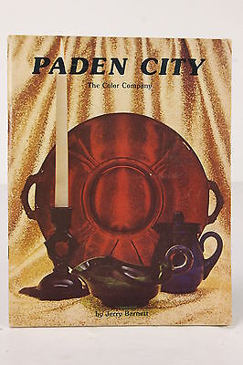 Paden City The Color Company Glassware History Catalog 1978 Soft Cover Booklet