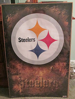 PITTSBURGH STEELERS LOGO POSTER Rare Hot New 22x34