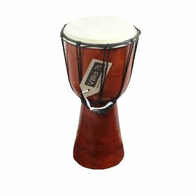 30cm Bongo / Djembre Drum, Goat Skin Hyde Mahogony Wood Great Value!!