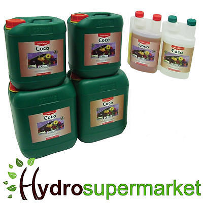 Canna Coco A + B Veg And Flower 1L  5, 10 Litre Nutrient For Hydroponic Growing