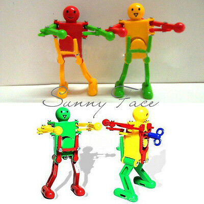 Hot Sale Wind Up Colorful Robot Toy Dancing Cute For Boys Girls Kids Selling