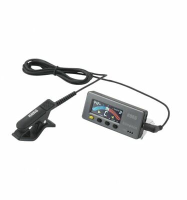 Korg Slimpitch Chromatic Instrument Tuner With Contact Microphone SLM-1CM