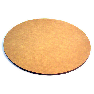 "Cal-Mil 10"" Round Flat Bread Serving Display Board Color Natural 1534-10-14"
