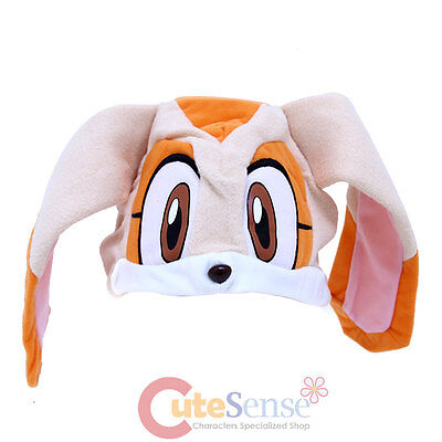 Sonic Hedgehog Silver Sonic Fleece Plush Hat Costumes Beanie Hat by GE