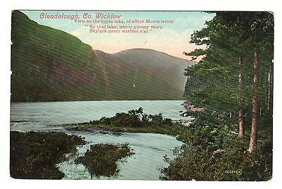 Glendalough - Co Wicklow Photo Postcard c1910