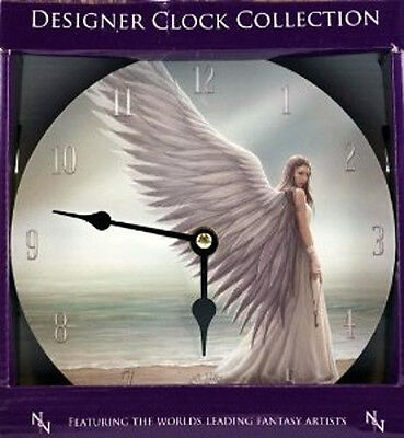 Spirit Guide - 18cm Wall Clock -Fantasy, Angel magic