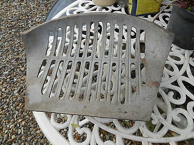 "Vintage Unused  Cast Iron  14.1/2"" Grate Bottom"