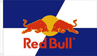 "NEW Red Bull Redbull Sign Banner Poster Flag 3' x 5' ft or 36"" x 60"" inches"