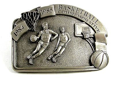 1985 Commemorative Basketball Belt Buckle by Arroyo Grande 102214