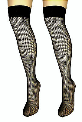 Fishnet Over Knee Socks