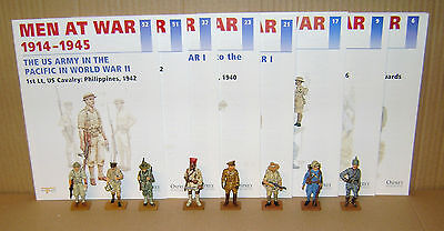 Del Prado Men At War 1914 -1945 Multi-List Selection Of Soldiers With Magazazine