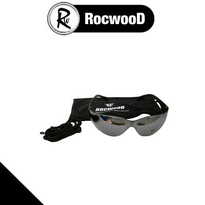 Safety Glasses With Grey Tint Suitable For Chainsaw & Brushcutter Use