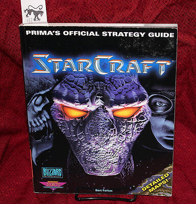 Star Craft Official Strategy Guide Prima Blizzard Starcraft Bart Farkas