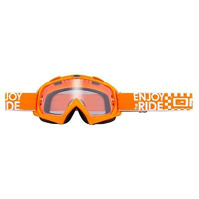 ONeal B-Flex Goggle LAUNCH Orange Crossbrille Motocross Brille DH MTB MX