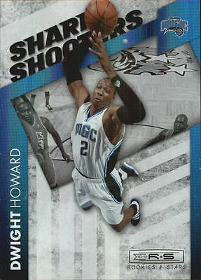 2010-11  Rookies and Stars Sharp Shooters Holofoil  #1 Dwight Howard /199