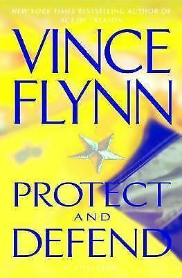 Vince Flynn - Protect And Defend (2007) - Used - Trade Cloth (Hardcover)