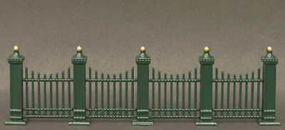 DEPT 56 GENERAL VILLAGE *WROUGHT IRON FENCE EXTENSIONS* 55158 9 PC SET NEW