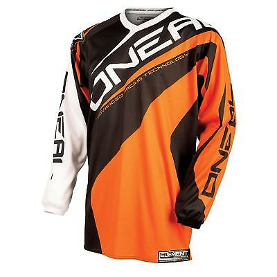 ONeal Element Kinder Jersey Orange Motocross Enduro Trikot MTB Kids Shirt
