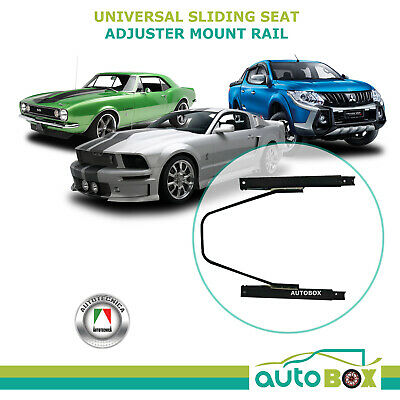 Universal Sliding Seat Adjuster Slider Mount Rail for Sports and 4WD Seats