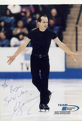 Kurt Browning TOP AK Orig. Sign. +G 2342
