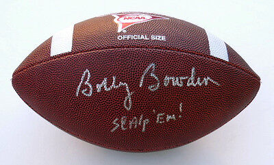 Bobby Bowden Autographed Football (Seminoles) W/ Proof!