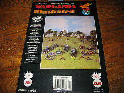 Wargames Illustrated Magazine #88, a Must-Read for Historical War Gamer's!