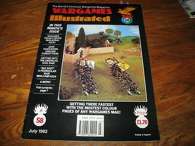 Wargames Illustrated Magazine #58, a Must-Read for Historical War Gamer's!