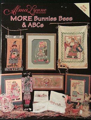 Alma Lynne Designs More Bunnies Bees & ABCs Cross Stitch Pattern Booklet