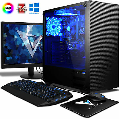 Vibox Raptor Windows 10 Desktop Gaming PC - 4.1GHz A6 Dual Core, 16GB RAM, 2TB