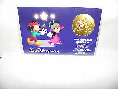 Disney MGM Studios 15th Anniversary Passholder Exclusive WDW Commemorative Coin