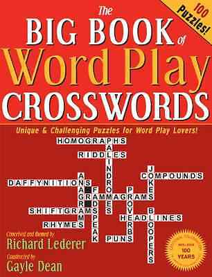 The Big Book of Word Play Crosswords - Dean, Gayle/ Le NEW Paperback 2013