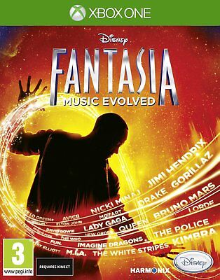 Disney Fantasia - Music Evolved  (Kinect)     XBOX One     !!!!!! NEU+OVP !!!!!!