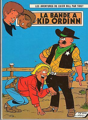 Chick Bill La Bande A Kid Ordinn Tibet Rare Edition Originale 1973