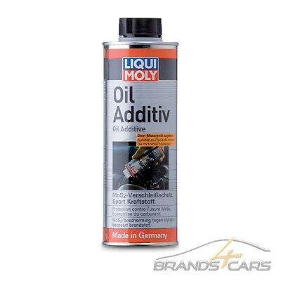 500ml LIQUI MOLY OIL ADDITIV MoS2-VERSCHLEISS-SCHUTZ ÖL-ADDITIV 31541001