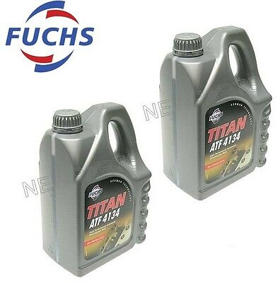 Mercedes Automatic Transmission Fluid ATF 4134 Fuchs Titan 8-Liter New