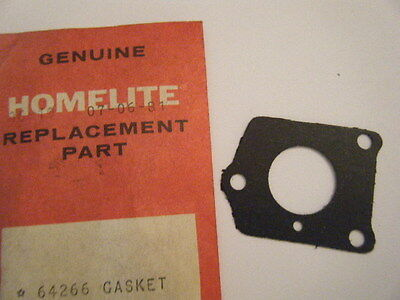 Homelite Chainsaw Reed Valve Gasket   # 65483 NEW NOS Fits XL924 XL925 Chainsaw Parts & Accs Outdoor Power Equipment