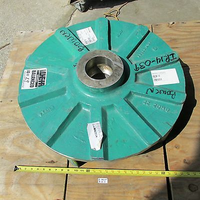 "New Weir/ Hazleton Pump Impeller Weir Slurry Pump  #60299   26-3/4"" Approx. Dia."