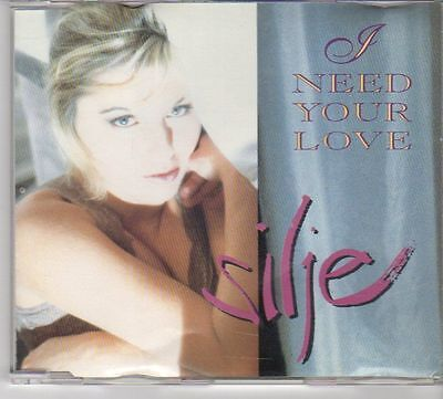 (EW253) Silje, I Need Your Love - 1999 CD