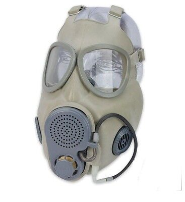 NEW Czech Military M10 NBC Gas Mask w/Filter, Drinking Tube & Bag - Never Worn!