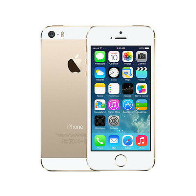 NEW Apple iPhone 5S A1530 16GB 4G LTE Factory Unlocked GOLD (GBH)