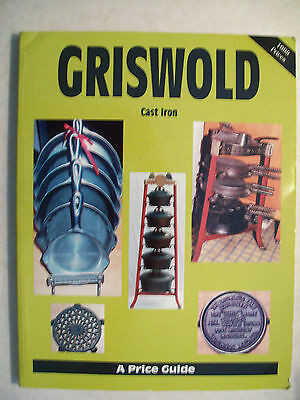 GRISWOLD CAST IRON PRICE GUIDE BOOK Skillets  Pan Dutch Oven Waffle Iron Kettles