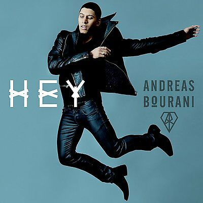 ANDREAS BOURANI - Hey  ( Album 2014 ) -- CD  NEU & OVP