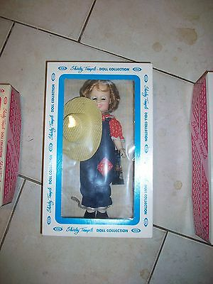 Ideal Shirley Temple Blue Outfit Classic Doll Collection Original box