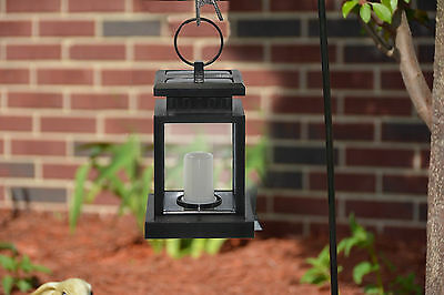 (Lot of 2) Hanging Solar Lights LED Pathway Garden Patio Lights Dusk to Dawn New