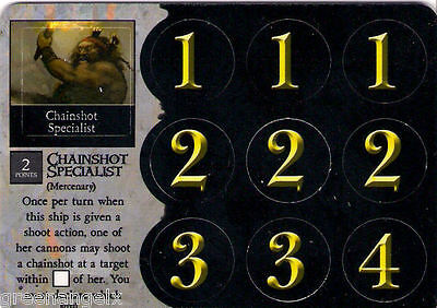 Pirates Of Mysterious Islands - 131 Mercenary Chainshot Specialist