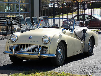 Triumph : Other overdrive 1959 triumph tr 3 unrestored everyday driver w o d ship worldwide see video