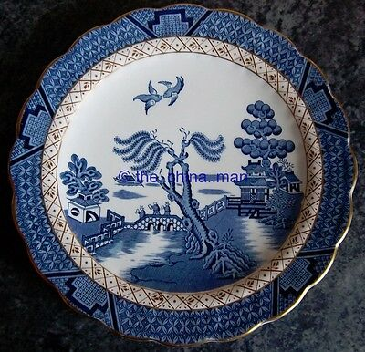 "superb BOOTHS REAL OLD WILLOW A8025 10"" PLATE"