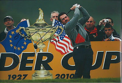 Graeme McDOWELL 2010 Ryder Cup Winner SIGNED AUTOGRAPH Photo AFTAL COA RARE