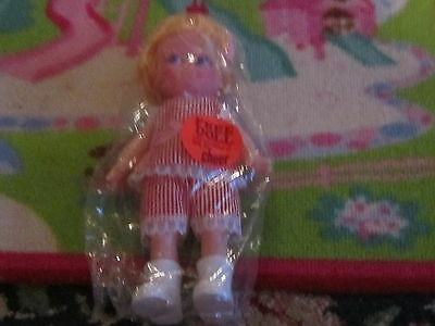 Vintage Gift with Purchase plastic doll if you bought Cheer Detergent laundry